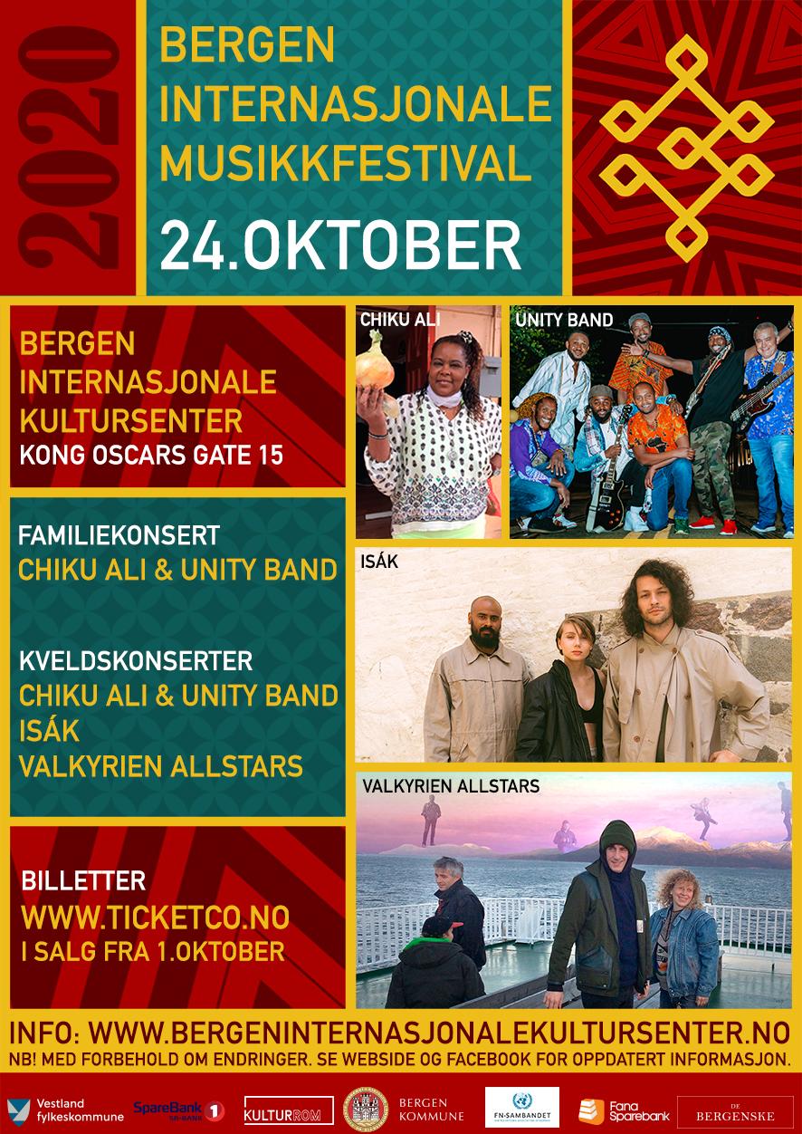 Bergen Internasjonal Musikkfestival 2020