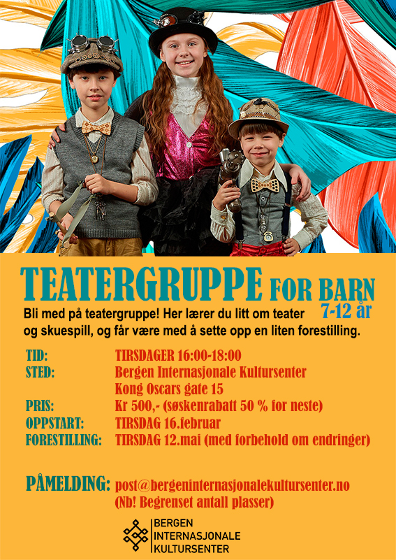 Theater group for children